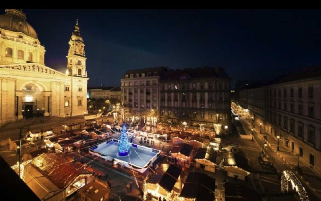 Christmas Fairs in Budapest Open