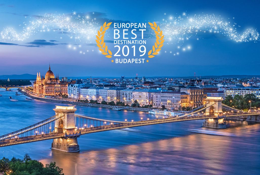 Budapest voted as Europe´s Best Destination 2019
