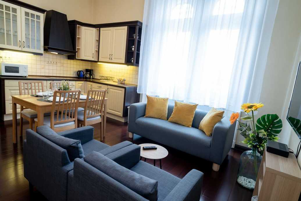 Krudy Gyula street apartment for rent